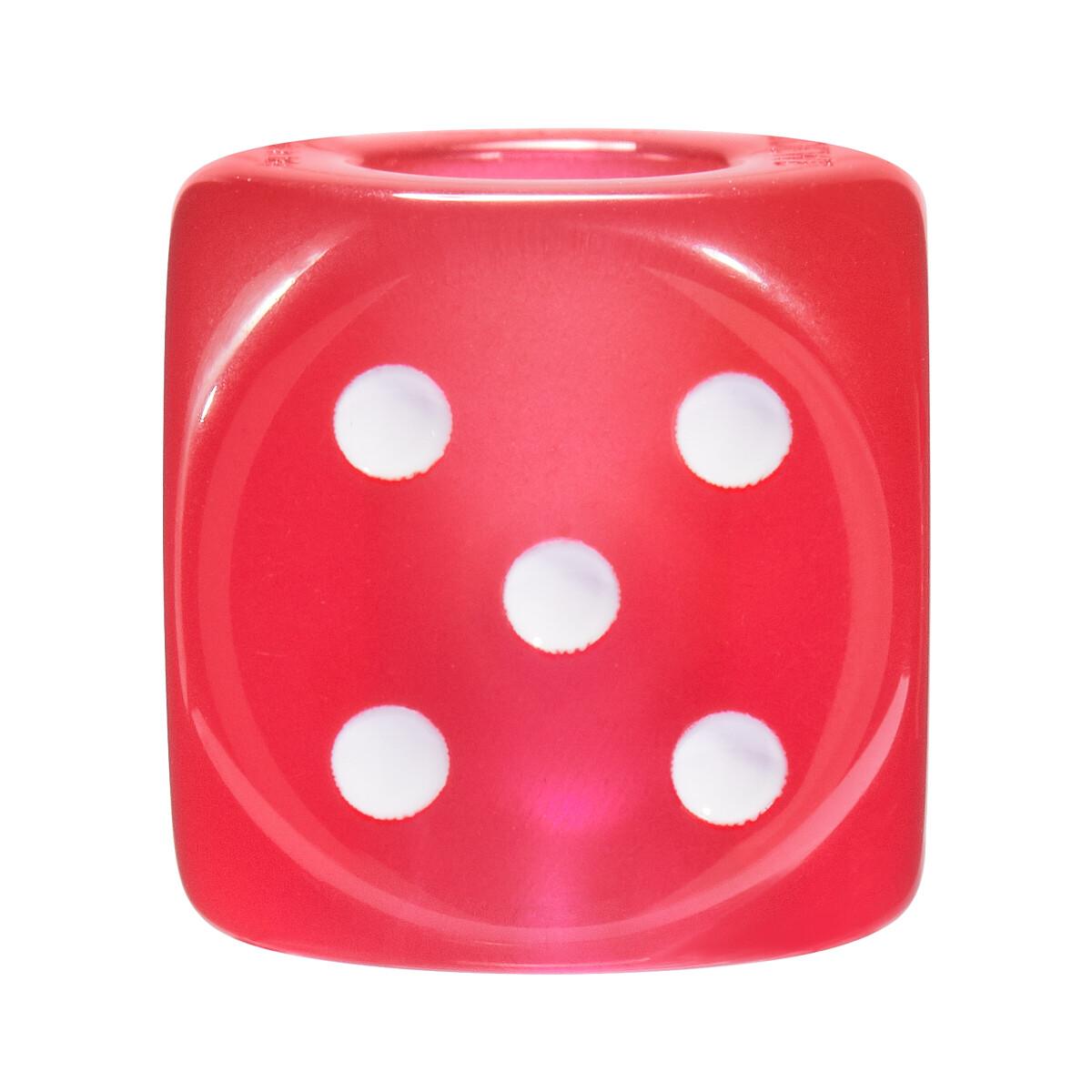 LOEWE 大号游戏骰子挂饰 红色 front