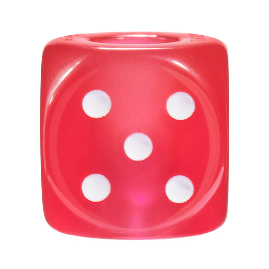 LOEWE Dado Grande Game Rojo front
