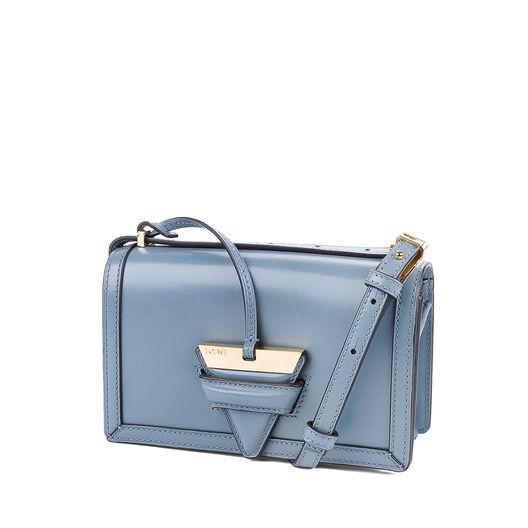 LOEWE Barcelona Small Bag Stone Blue all