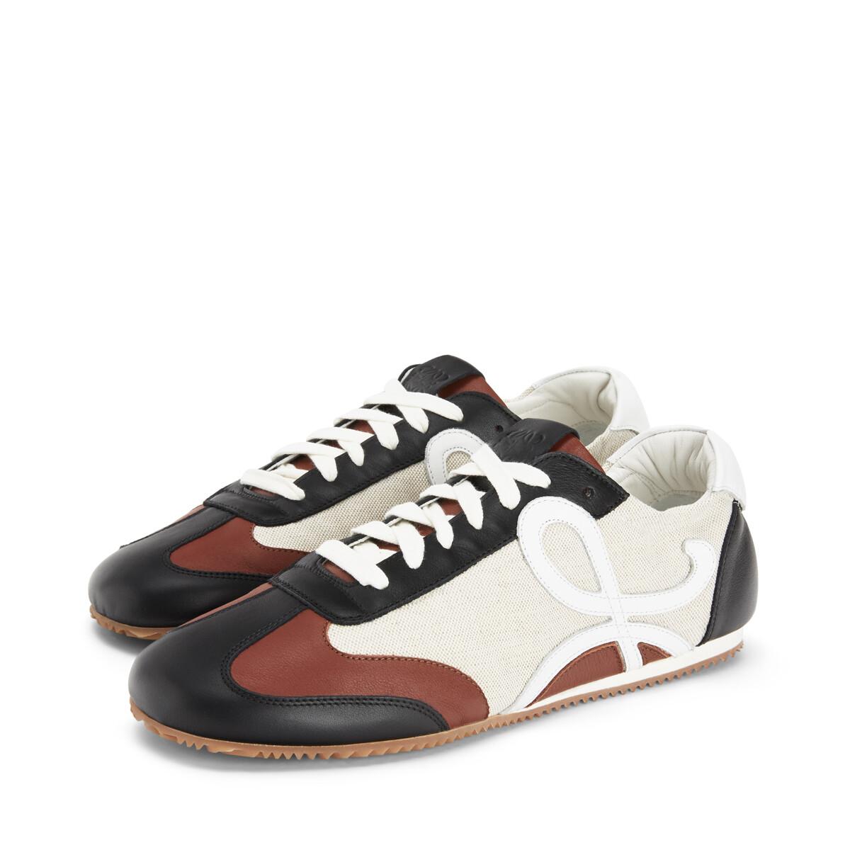 LOEWE Sneaker Arena/Marrón Oscuro front