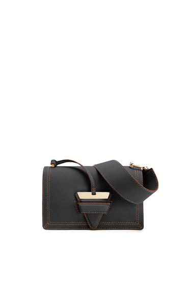 LOEWE Barcelona bag in soft grained calfskin Black pdp_rd