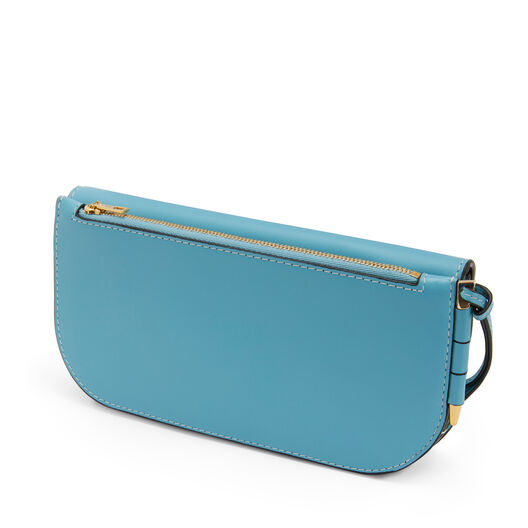 LOEWE Gate Continental Wallet 淡蓝色 front