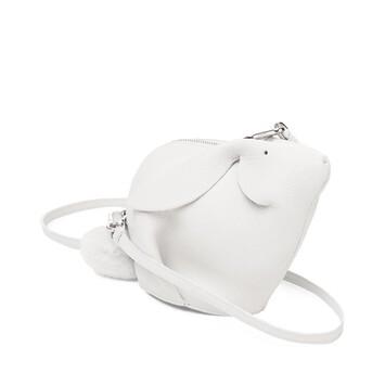LOEWE Bolso Conejo Mini Blanco front