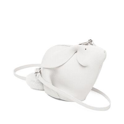 LOEWE Bunny Mini Bag White front