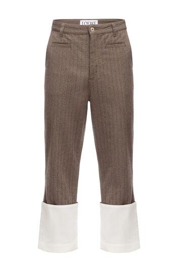 Striped Fisherman Trousers