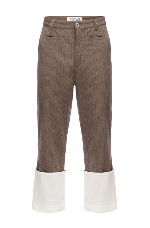 Striped Fisherman Trousers