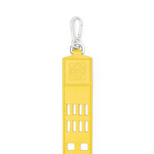 LOEWE Grid Wide Strap Yellow all