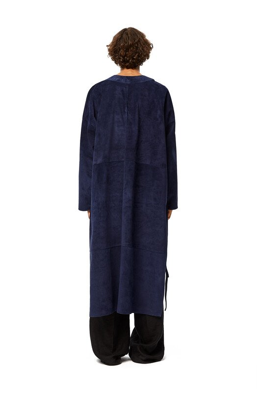 LOEWE Long Tunic Navy Blue front