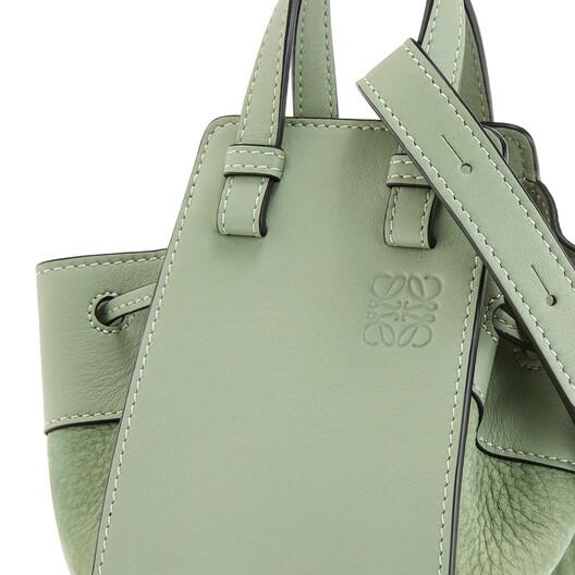 LOEWE 小号Hammock DW手袋 Pale Green front