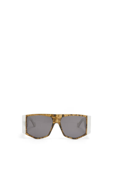 LOEWE ACETATE MASK SUNGLASSES White/Smoke pdp_rd