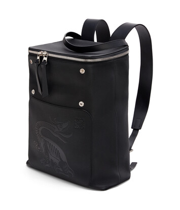 LOEWE Goya Dragon Backpack Black front