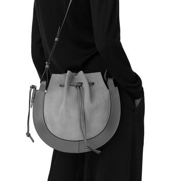 LOEWE Horseshoe Bag Gold/Tan front