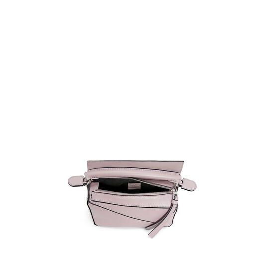 LOEWE Puzzle Mini Bag Icy Pink front