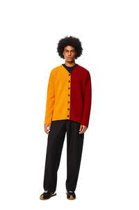 LOEWE Rebeca oversize en lana Naranja/Rojo pdp_rd