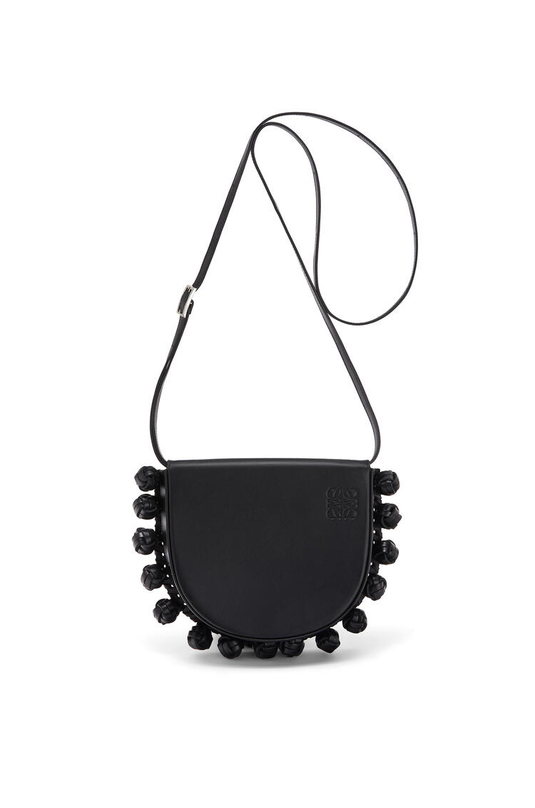 LOEWE Heel knots bag in soft calfskin Black pdp_rd