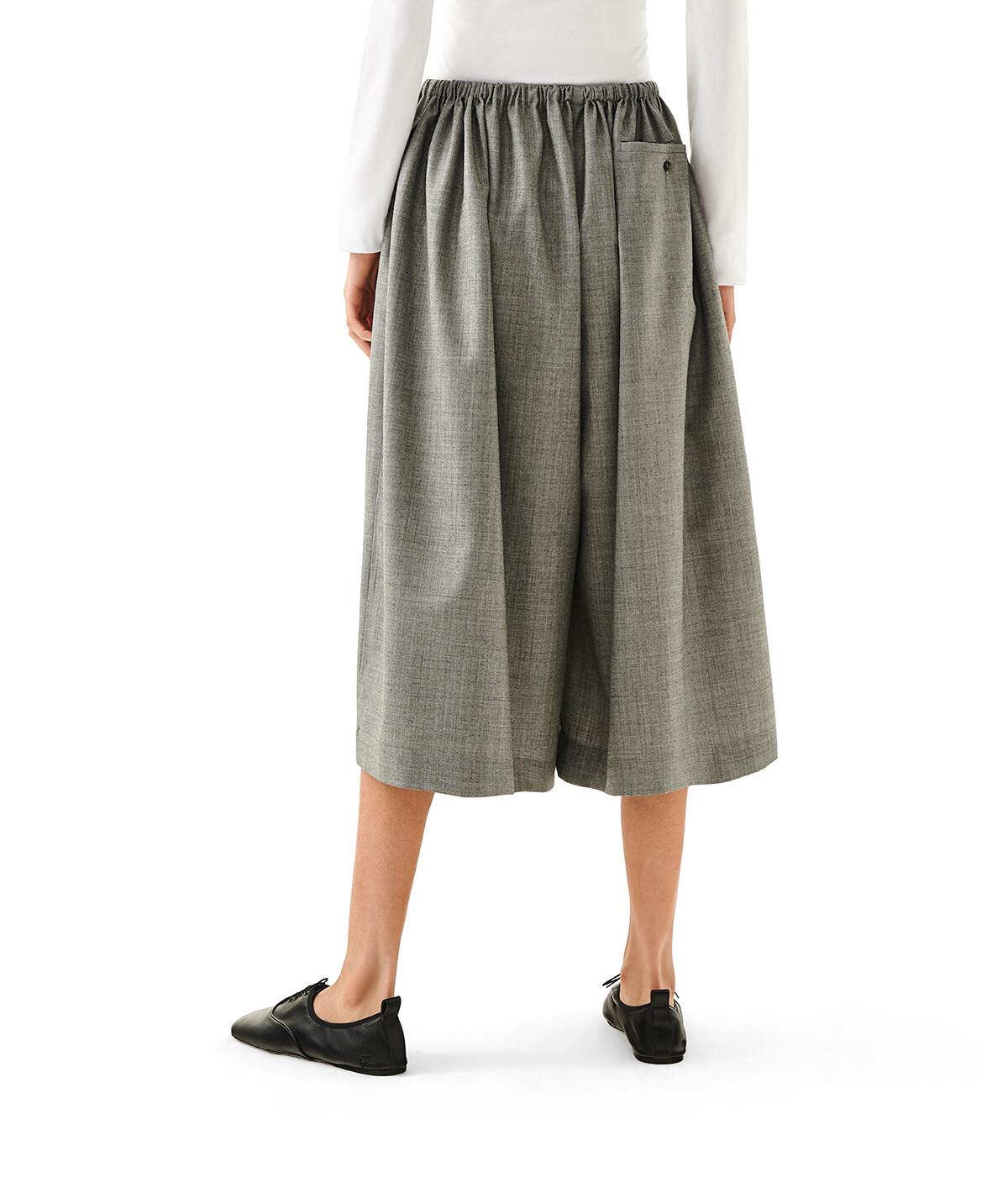 LOEWE Drawstring Shorts Gris front