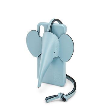 LOEWE Funda Elefante Para Iphone X/Xs Azul Claro front