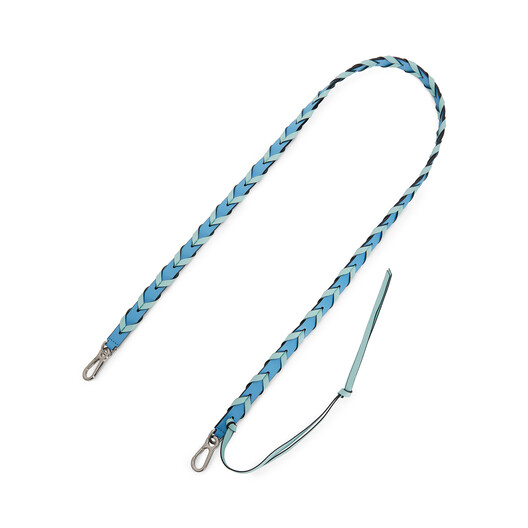 LOEWE Braided Thin Strap Sky Blue/Mint  front