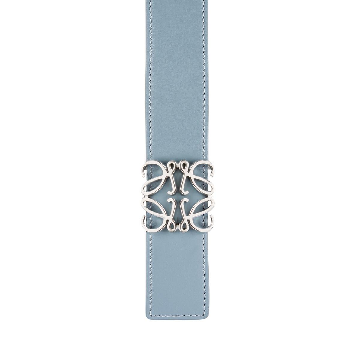 LOEWE Cinturon Anagrama 3.2Cm Azul Piedra front
