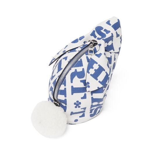 LOEWE Bunny T Shirt Mini Bag Soft White/Varsity Blue all
