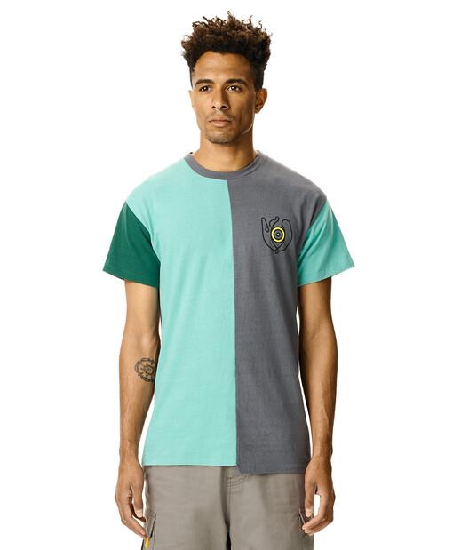 LOEWE Asymmetric Loewe Eye T-Shirt Multicolor front