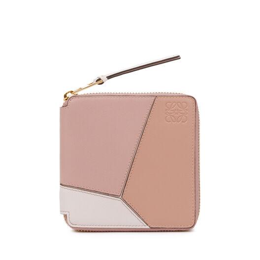 Puzzle Square Zip Wallet