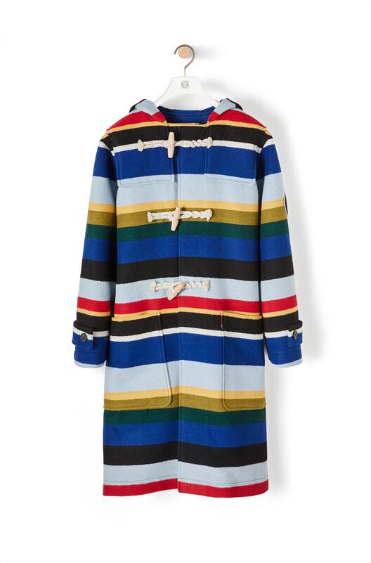 Eln Stripe Duffle Coat