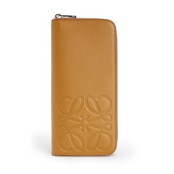 LOEWE Brand Open Wallet Honey front