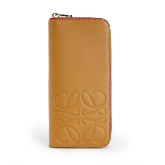 LOEWE Brand Open Wallet Honey front