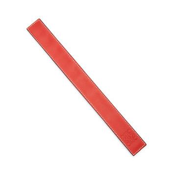 LOEWE Small Slap Bracelet Red front