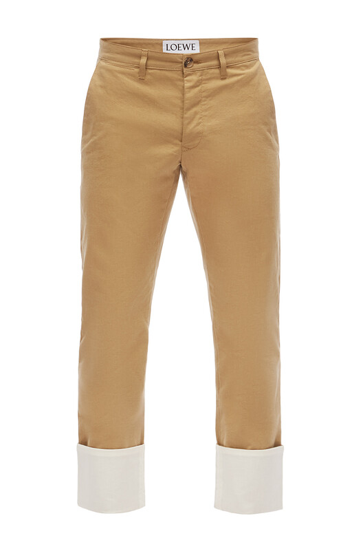 Turn Up Chino Trousers