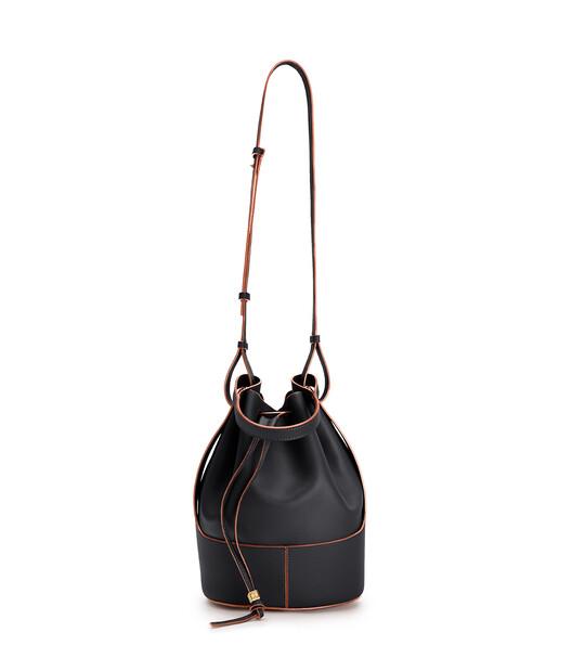LOEWE Balloon Large Bag Black front