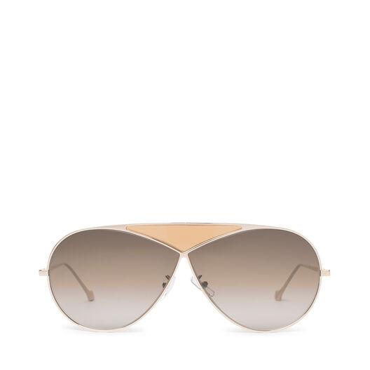 LOEWE Pilot Puzzle Sunglasses Pale Gold/Gradient Roviex all
