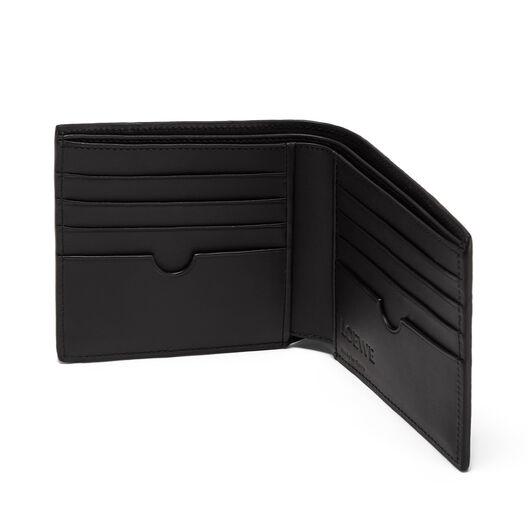 LOEWE Puzzle Bifold Wallet Dark Taupe/Desert front