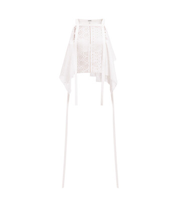 LOEWE Camisole Top Broderie Anglaise 白色 front