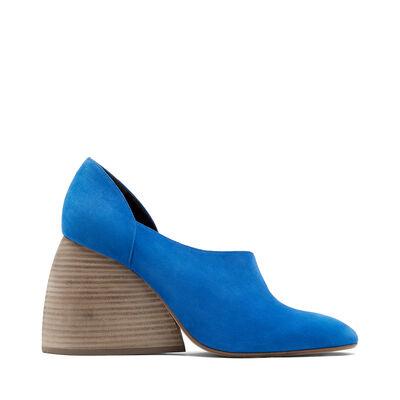 LOEWE Flex Loafer 90 Blue front