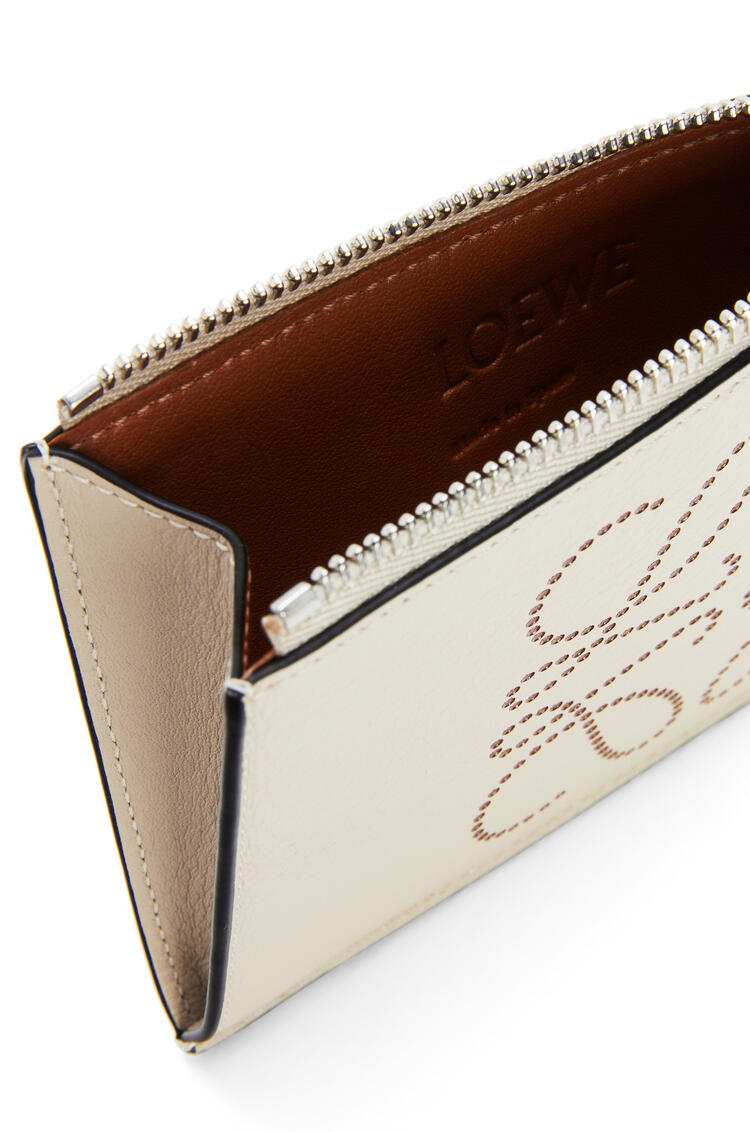 LOEWE 牛皮革品牌硬币卡包 Light Oat/Tan pdp_rd