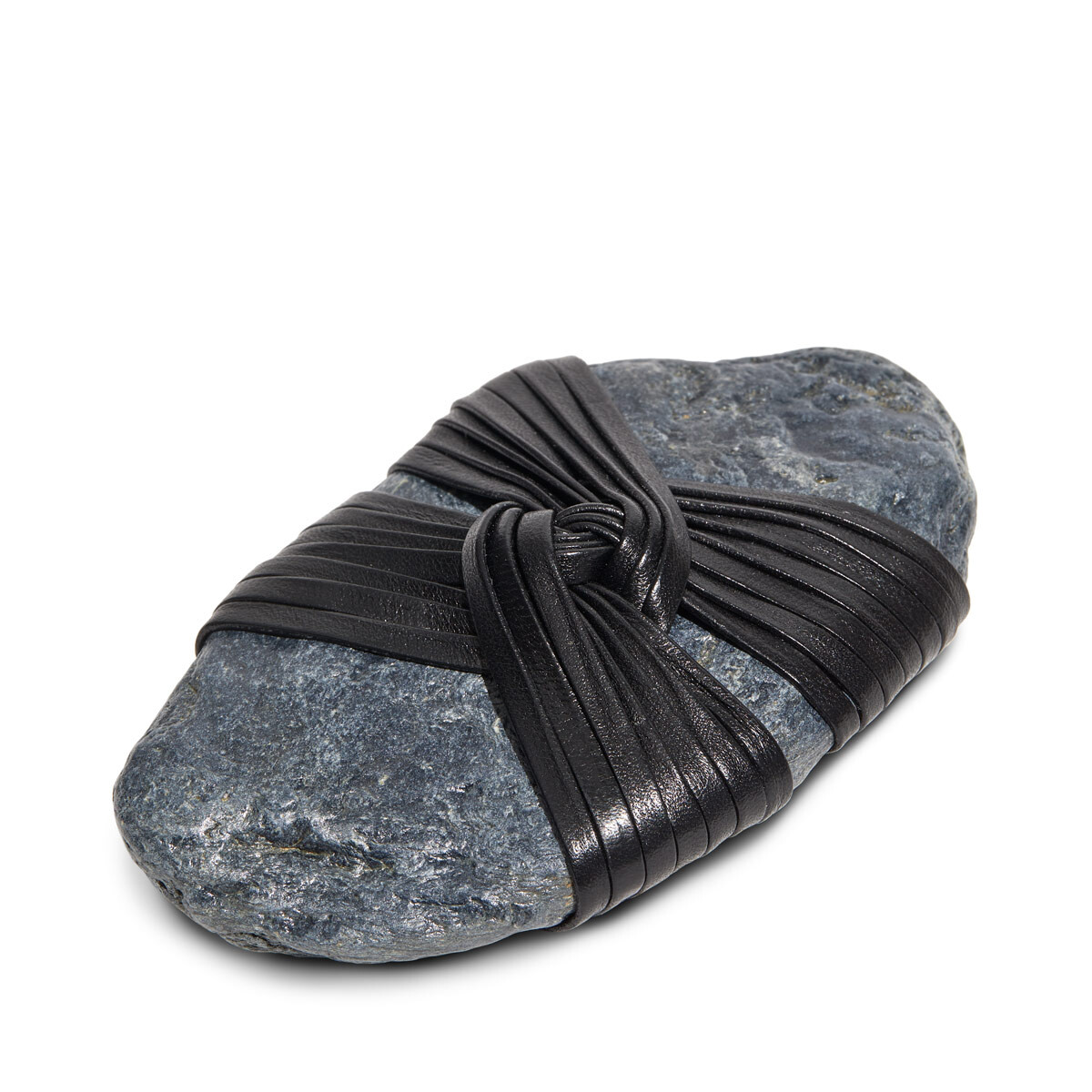 LOEWE Kunoji Open Knot Stone Black front