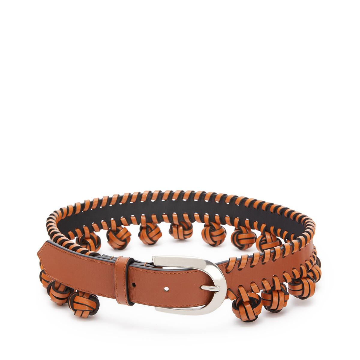 LOEWE Cinturon Nudo Bronceado/Paladio front