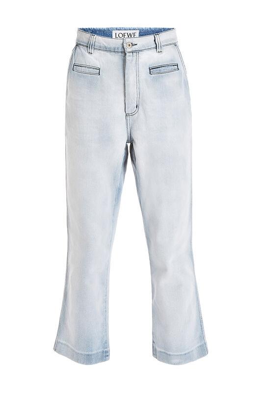 LOEWE Fisherman Jeans Light Blue front