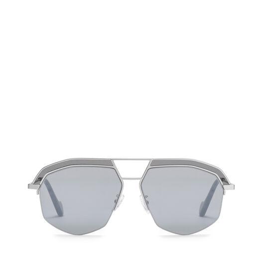 LOEWE Elio Sunglasses Mate Rhodium/Grey all