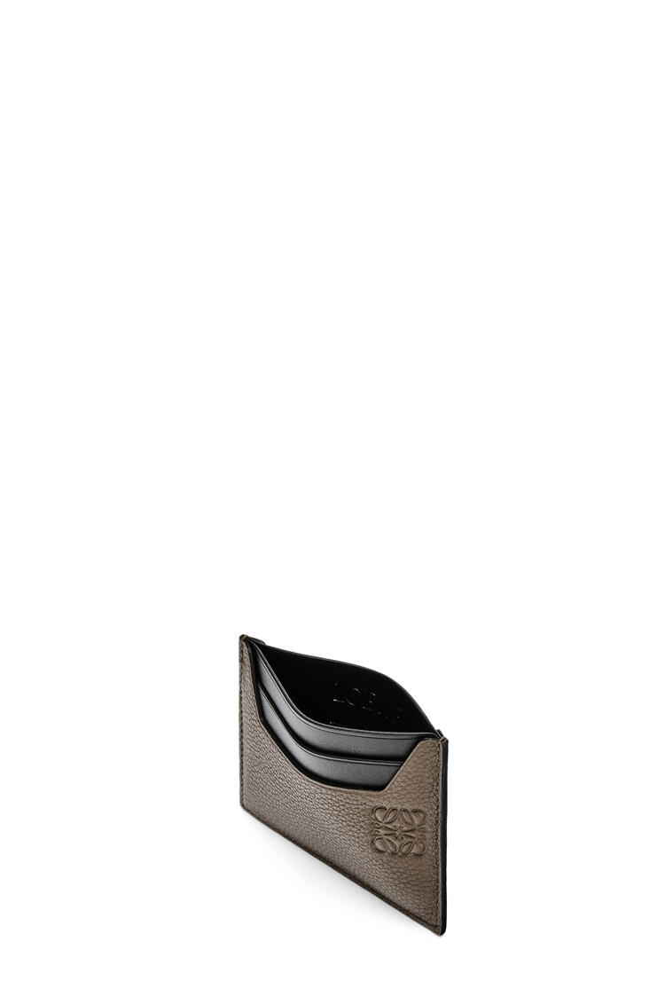 LOEWE Plain cardholder in grained calfskin Dark Moss pdp_rd