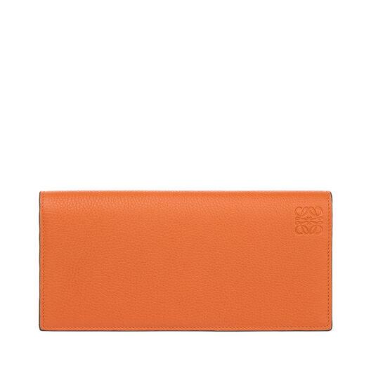 LOEWE Long Horizontal Wallet Ginger/Smoke Grey all