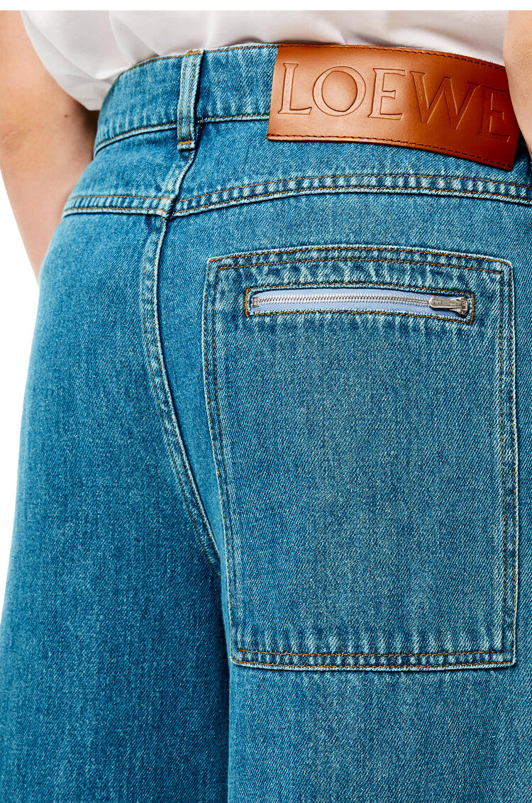 LOEWE Fisherman jeans in cotton Blue pdp_rd