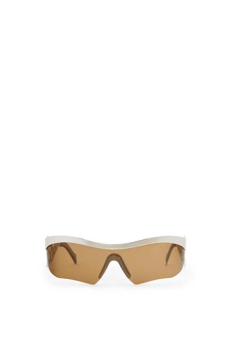 LOEWE Logo Mask Sunglasses Palladium/Green pdp_rd