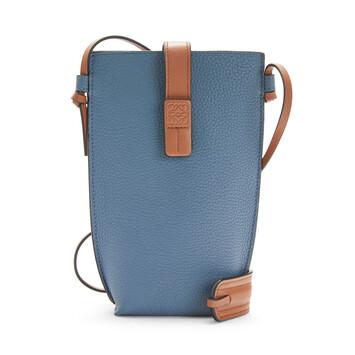 LOEWE Pocket Azul Acero/Bronceado front