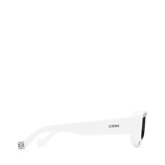 LOEWE パウラサングラス ブラック/ホワイト front