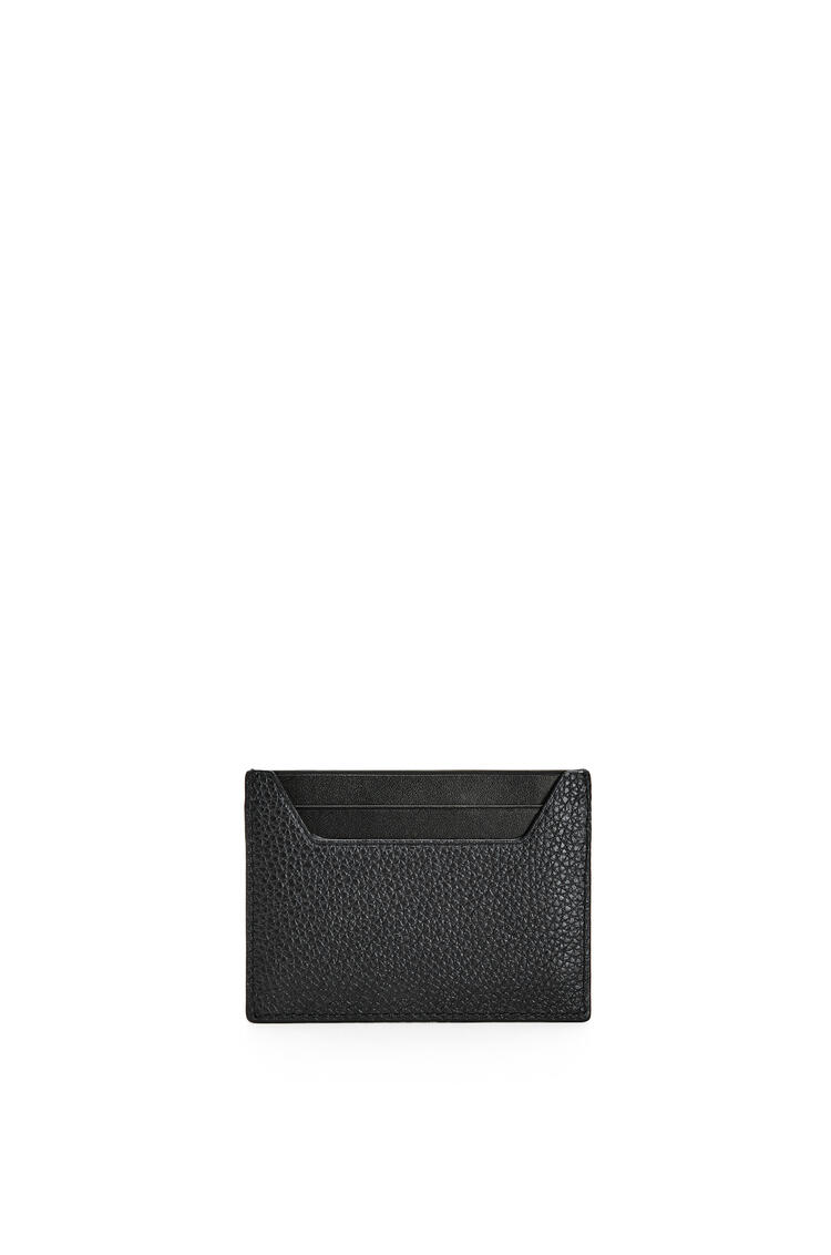LOEWE Plain cardholder in grained calfskin Black pdp_rd