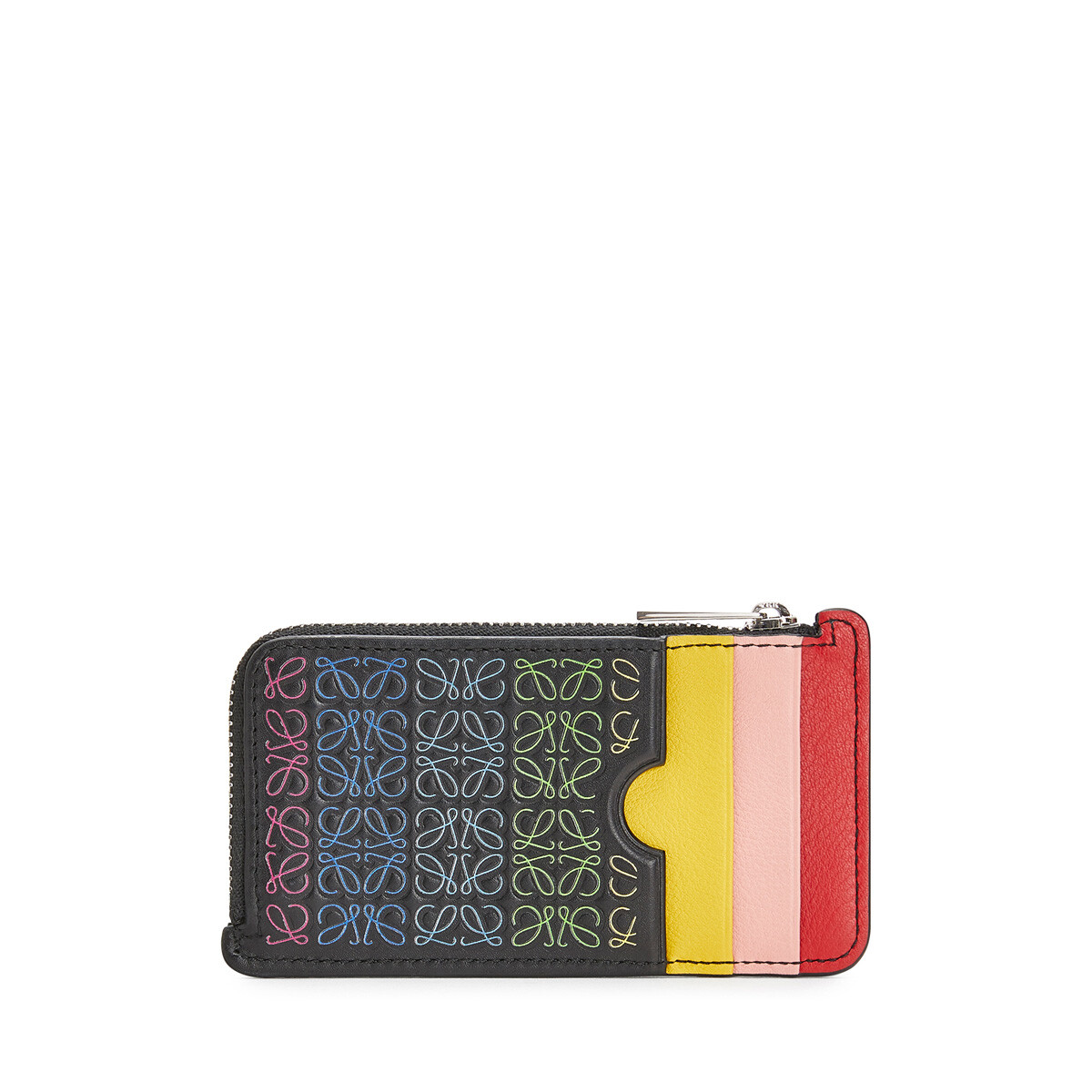 LOEWE Repeat C/C Holder Black/Multicolor front