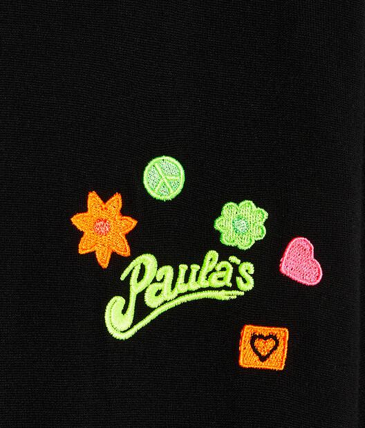 LOEWE Jersey De Cuello Redondo En Lana Y Poliéster Con Bordado Negro front